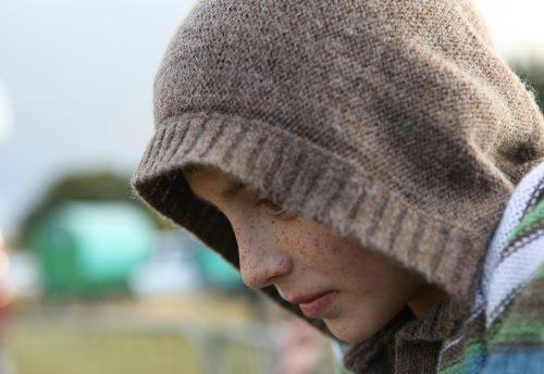 Young Romany Gypsy boy Elizabeth Blanchett